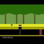 Screenshot of Pitfall! intro